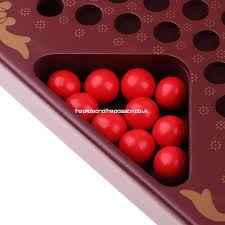 chinese checkers with pegs