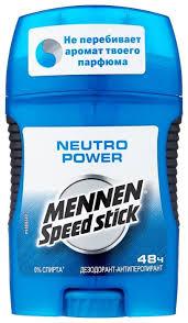 <b>Дезодорант</b>-антиперспирант <b>стик Mennen Speed Stick</b> Neutro ...
