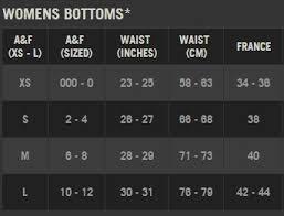 Abercrombie And Fitch Shorts Size Chart Pangukcalibration Co Uk