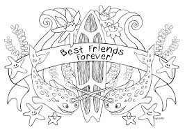 Cute Bff Colouring Pages Elegant Coloring Pages For Coloring Pages