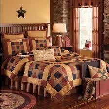 montclair queen quilt by park designs country primitive rustic bedding bed quilt