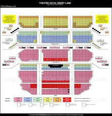 Frozen Musical Seating Chart Theatre Royal Drury Lane London Seat Map And Prices For