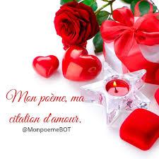 Mon Poème Ma Citation Damour Home Facebook