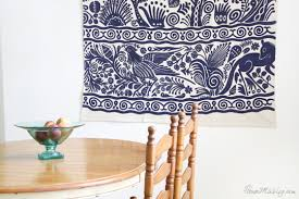 hang a pretty rug on the wall as art