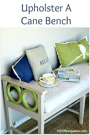 how to upholster bench seat how to upholster a cane bench seat upholstered benches with storage