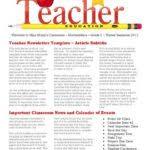 Teacher Brochure Example Teacher Brochure Template Free Archives Oilblog Info