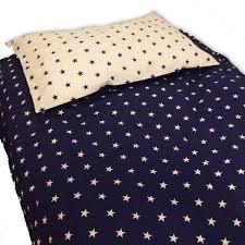 navy stars duvet cover 100 cotton