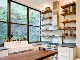 Kitchen Storage Shelves Ideas Emphasize Small Spaces With Kitchen Wall Storage Ideas