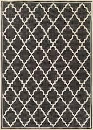 monaco ocean port black outdoor rug mediterranean outdoor rugs by rug and more