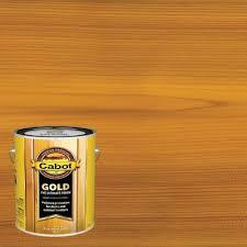 Gold Sun Drenched Oak Transparent Exterior Stain Actual Net Contents 128 0 Fl Oz