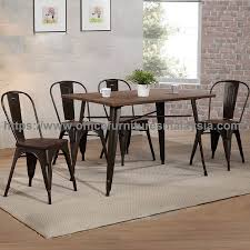 industrial dining room table and chairs. Industrial Style Rectangular Dining Set Commercial Furniture Online Shop Malaysia Petaling Jaya OUG Cheras3 Room Table And Chairs O