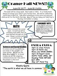 Classroom Newsletter Template Thats Student Friendly I