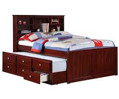 medium size of bookcases captain bed with trundle and bookcase headboard fabulous full with trundle