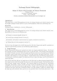 Pdf Exchange Format Bibliography