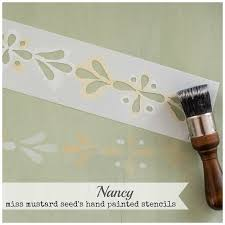 miss mustard seed s hand painted stencils
