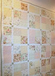 just love the big blocks of fabric on this quilt--made from ... & just love the big blocks of fabric on this quilt--made from vintage sheets  | Vintage Sheets | Pinterest | Vintage sheets, Fabrics and Vintage Adamdwight.com
