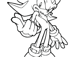 Sonic Coloring Pages Printable Sonic Coloring Pages Printable Line