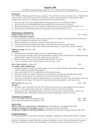 Sample Resume For Sales And Marketing Assistant Inspirationa Resume