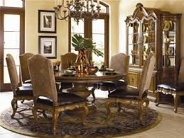 Types Of Tuscan Dining Room Furniture  Luxurious Tuscan dining room set  with Bunching Curio