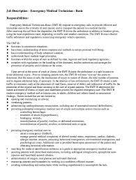Emt Resume Example From Medical Director Job Description Medical