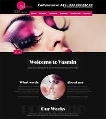 gorgeous makeup artists wordpress theme 59 90