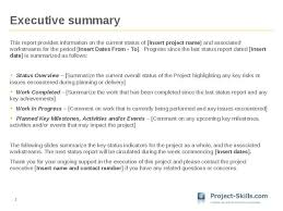 executive summery executive summary format for project report c45ualwork999 with