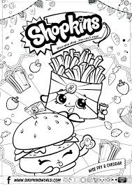 Shopkins Printable Coloring Pages Coloring Pages To Print Colour