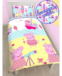peppa pig bedding sets peppa pig bedding sets cot bed