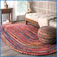7 ft round braided rugs designs