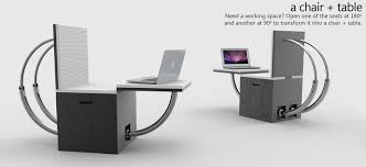 chair and table of Transformable Stool for Multi-purpose Use