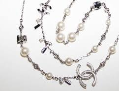 chanel necklace. used chanel long necklaces for women chanel necklace