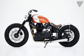 for motorcycle fans herencia custom garage triumph bobber