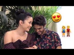 Though they made their joined red carpet debut in 2019, centineo took to instagram in january 2020 to shout out his significant other, sharing a couple photo and writing. Noah Centineo Can T Stop Flirting With Lana Condor Youtube
