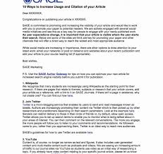 Download Our Sample Of Article Submission Cover Letters Beautiful