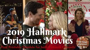 2019 New Hallmark Christmas Movies Full Schedule Free