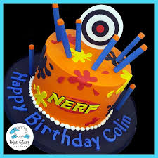 nerf birthday cake nj CAKES Pinterest