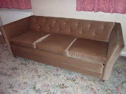 greaves and thomas vintage low back chesterfield sofa bed