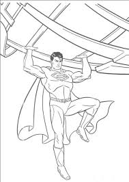 Small Picture Printable Superman Coloring Pages To Print 7995