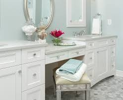 double sink bathroom vanity with dressing table purobrand co for regarding makeup designs 19