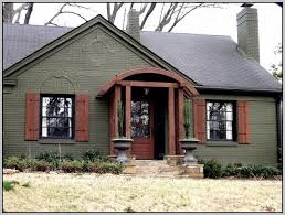 best exterior paint colors with brick