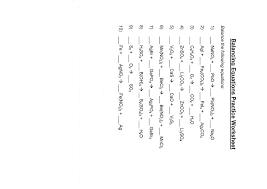 free balancing equations chemical worksheet grade 10 pdf