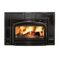 napoleon fireplaces oakdale series cast iron wood burning insert traditional black