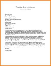 Resume Cover Letter Relocation Sample Corptaxco Com