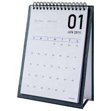 stand up desk calendar vector table blank holder paper card isolated 5