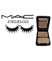 mac mac eyelashes bb skin finish pact makeup kit gm