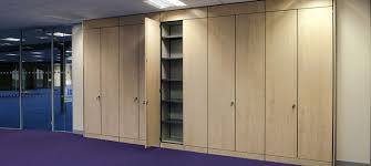 wall office. Office Storage Wall | Refurbishment Partitions