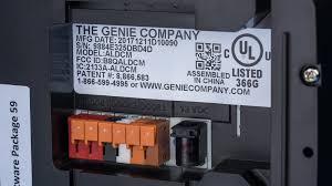 genie s aladdin connect smart garage