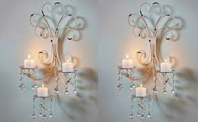licious set of wallelier candle holder sconce shabby covers bronze lights crystal metal centerpiece lighting chandelier