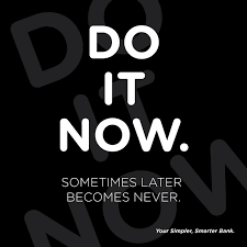 Say no to Procrastination. Start... - Union Bank of Nigeria   Facebook