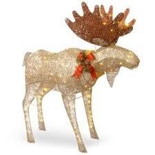 moose decoration figurine